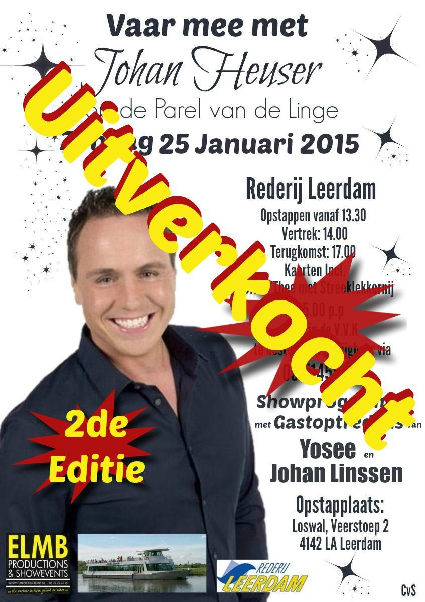 25 Januari 2015 Goede Uitverkocht